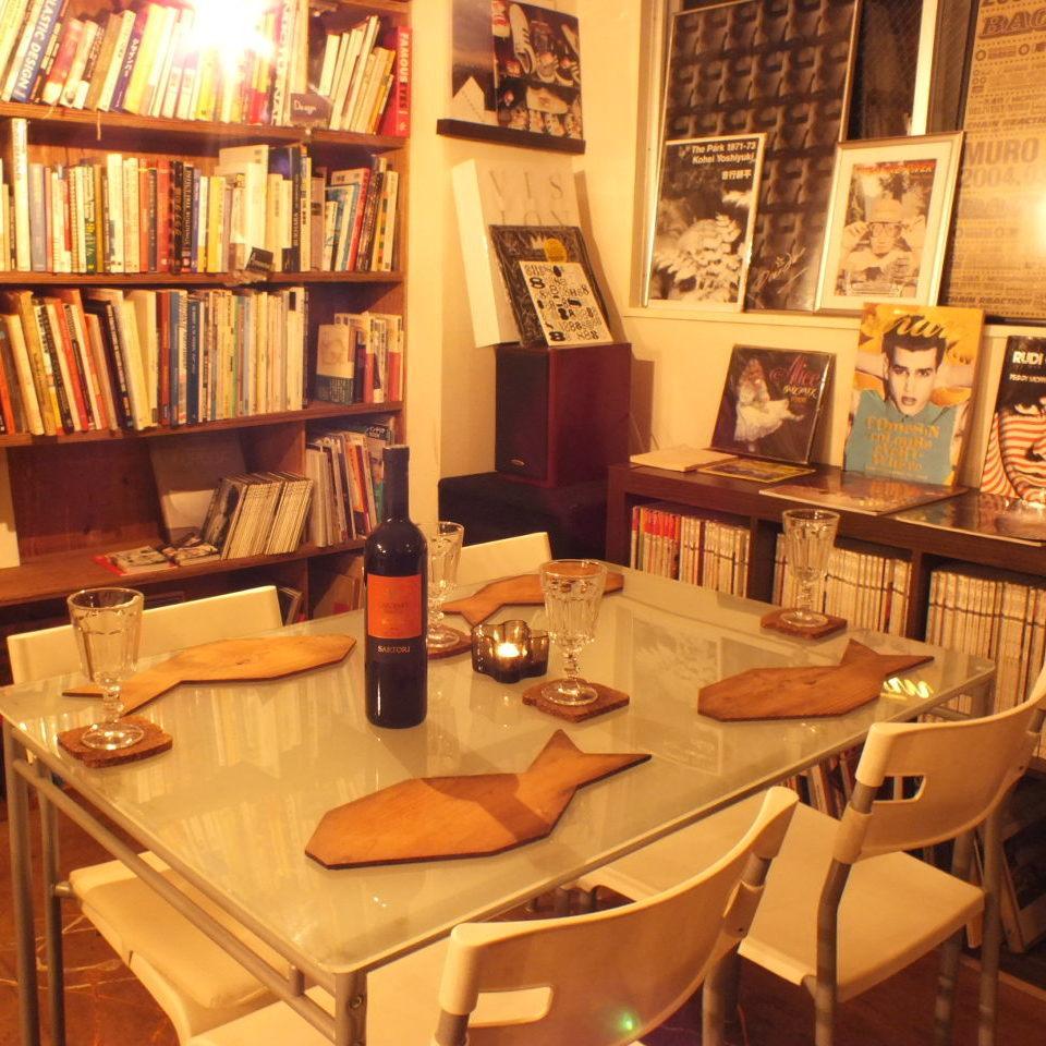 テーブル4名様×4卓