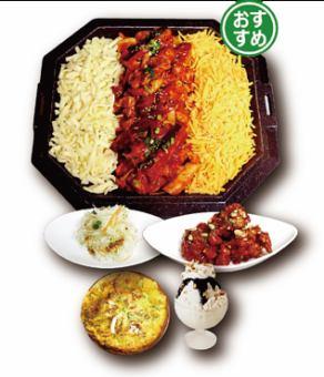 【超級眼睛!!招牌菜單】奶酪Taccarbie SET 1590日元(每人)