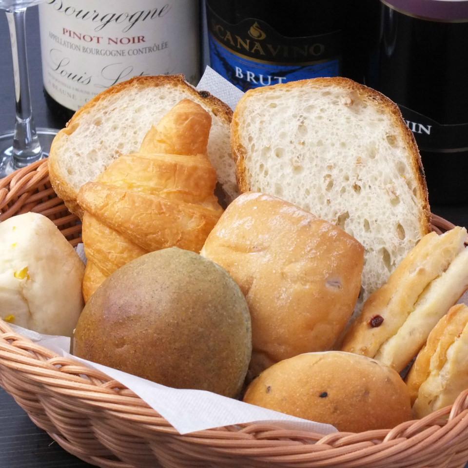 自家製パン食べ放題
