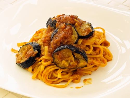 Fried eggplant bolognese