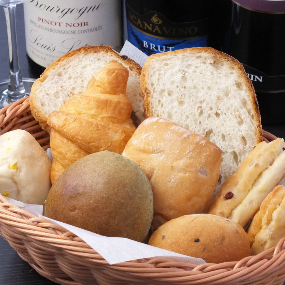 All-you-can-eat homemade bread