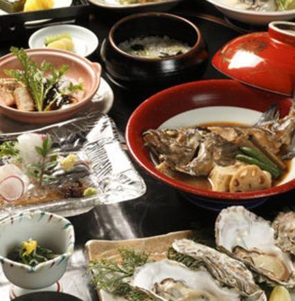«只有菜»【水煮魚】【孔子卡拉基】〜廣島的順瀨內町會議〜(共10項)5400日元(含稅)
