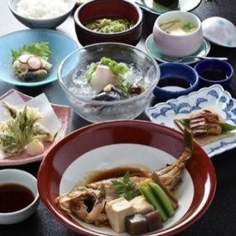 """Only cooking"" 【Lunch time limited ♪】 ~ Setouchi mini meeting ~ (all 9 items) 3240 yen"
