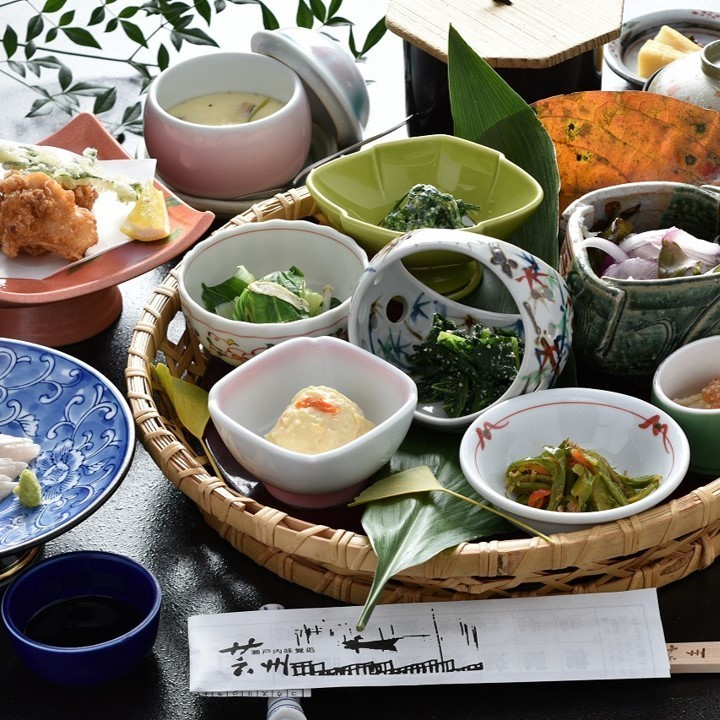 Lunch set menu aya basket menu