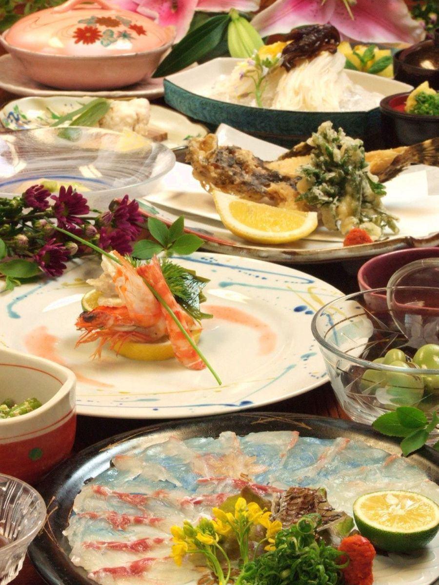 一個接一個的菜......堅持賽季120分鐘飲酒派對6000日元〜