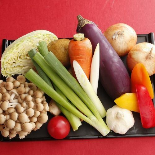 野菜もふんだんに美味しく頂けます♪