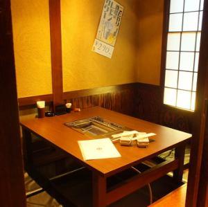 4名様 掘り炬燵席 個室