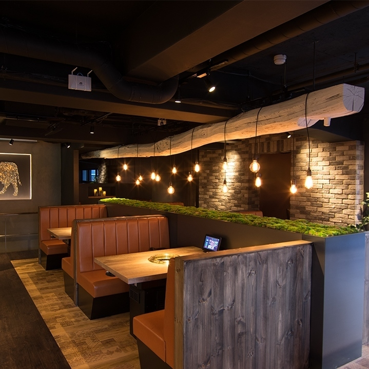 <Also for families and mama associations *> Sofa seats are also recommended for families.Children's chair and baby cot is fully equipped and family-friendly Yakiniku restaurant.Bright, homely atmosphere.Many ladies stay long.