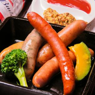 5 types of sausages