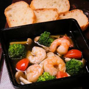 蝦和蘑菇ahijo(帶桶)