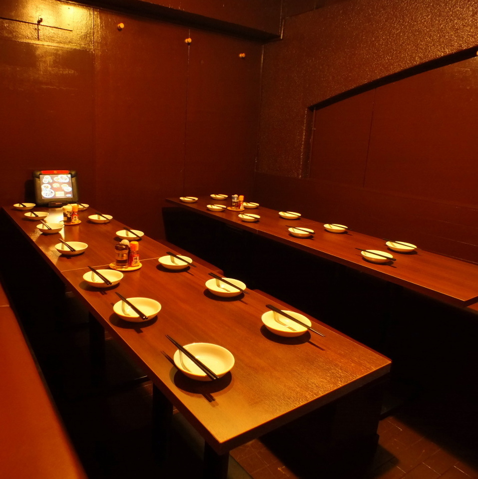 Completely private room appears in the interior renovation ♪ It is possible for up to 16 people to party.
