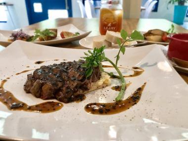 BELLE 国産牛ステーキコース