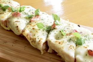 马苏里拉奶酪玛格丽塔桶比萨
