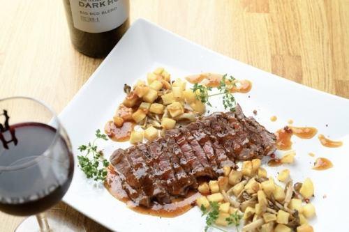 [Popularity No.1] Aged premium steak lunch
