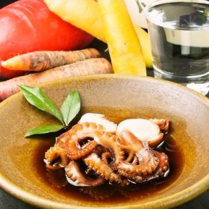 (冈山)煮章鱼惠而浦的