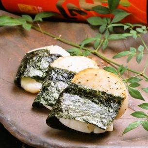 (冈山)矶部的Hiragai烤