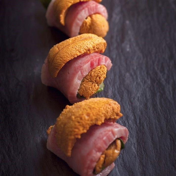 Murakami牛肉和豪華包裹的華麗卷