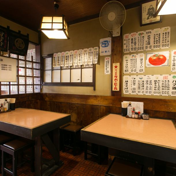 Inside the nostalgic shop, there is a nostalgic atmosphere somewhere.While feeling like an old-fashioned izakaya, we keep in mind the beautiful and calming shops.In addition, we have put a recommendation menu inside the store! Because purchasing is quite difficult, please order by all means!