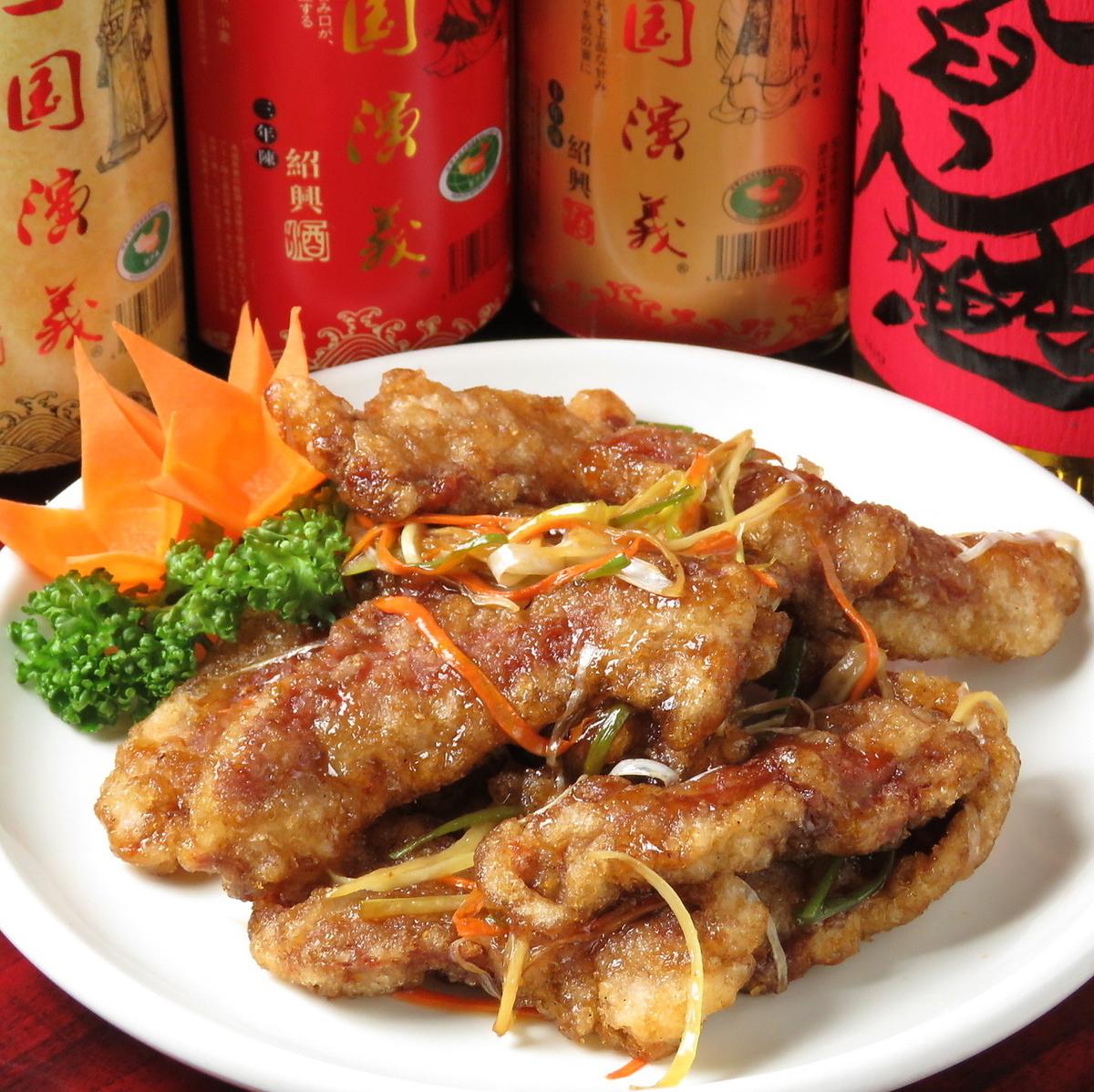 ◆◇新メニュー◇◆鍋包肉(グゥオ・バオ・ロウ)