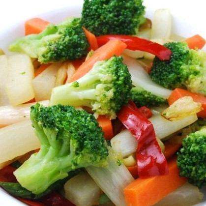 温野菜のオリーブオイル炒め ~ガーリック風味~