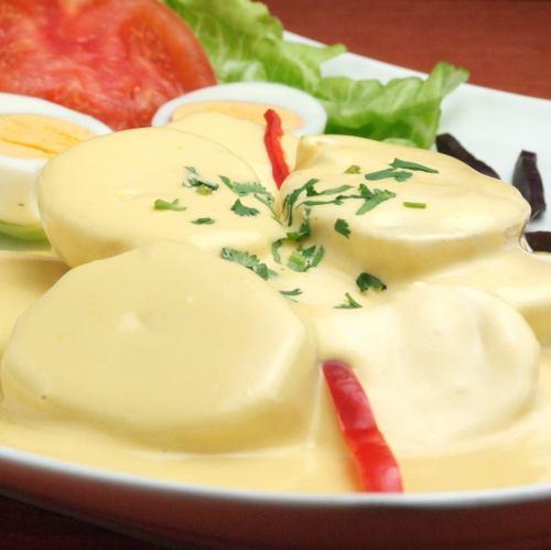ポテトのフレッシュチーズ和え