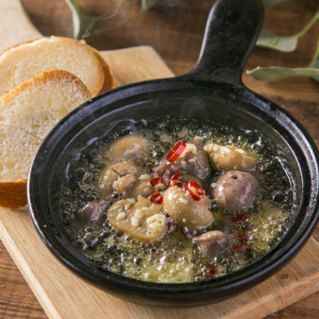 沙肝和蘑菇ahijo