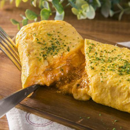 肉味噌奶酪離開滾雞蛋