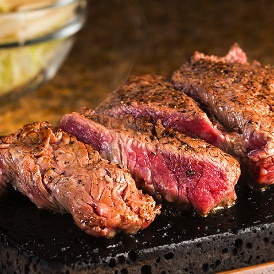 早くも宮城2号店!富士溶岩石で喰らう牛肉の塊ステーキは圧巻!!