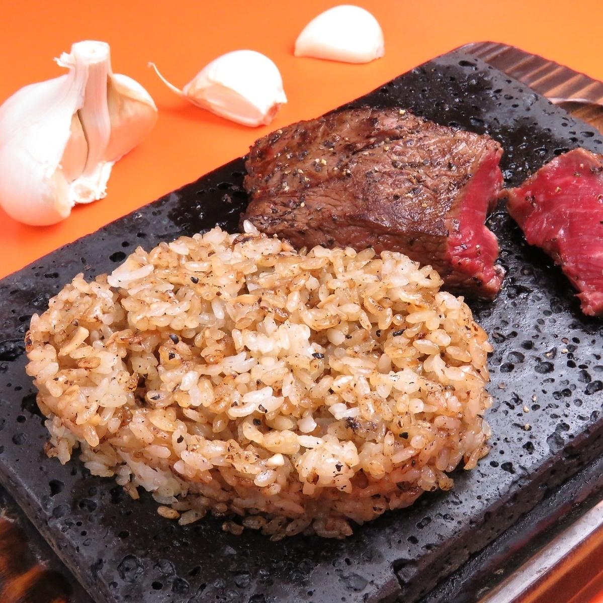 【美味しい食べ方】ガーリックライス!