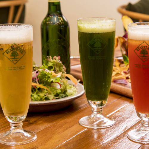 全部70种以上!享受酒精和不含酒精【无限畅饮】1600日元(2小时)