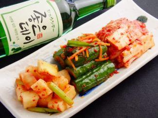 Kimchi Assorted