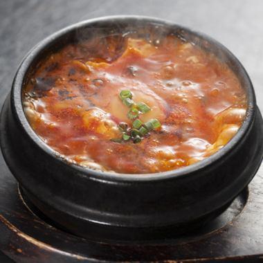 Jun tofu soup
