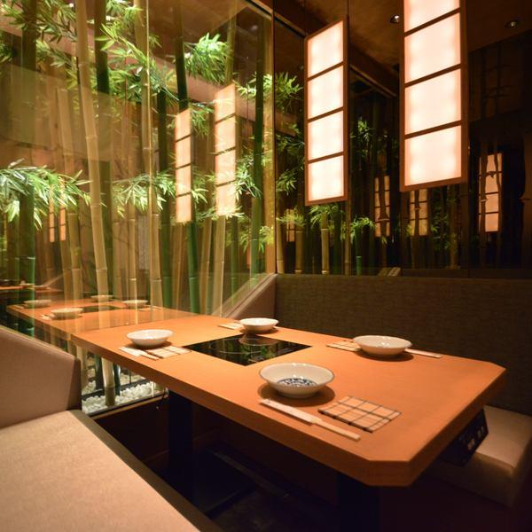 [소규모 님으로부터 독실을 준비 ☆] 군산에서 도보 1 분의 가게입니다 ♪ 쉬어 일본식 개인 실을 다수 준비하고 있습니다! 죽림을 느끼게하는 일본식 모던 공간은 여자 회 · 미팅에도 최적입니다 ♪ 다양한 종류의 술과 음료와 함께 최상급 시간을 보내세요 ... ♪