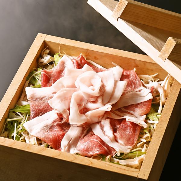 마쓰자카 돼지와 집념 야채의 대형 세이 찜 (3 ~ 4 명)