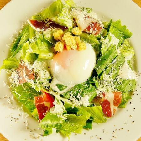 Caesar salad of romaine