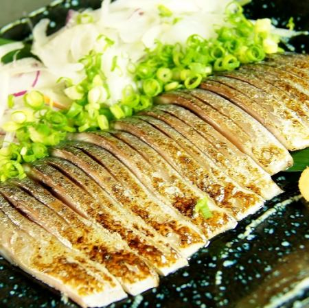 Broiled mackerel mackerel