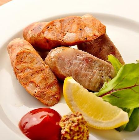 """Shima pig KAZUGORO"" Sausage serving"
