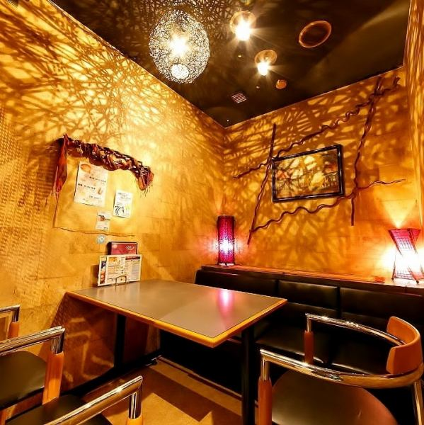 There are also a small number of private rooms! 2 people ~ all seats private room (^ ^) /