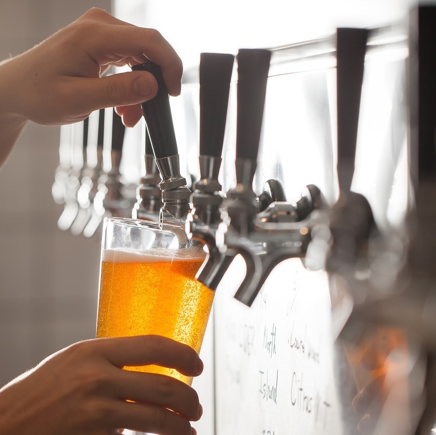 First of all, toast with 16 taps of craft beer!