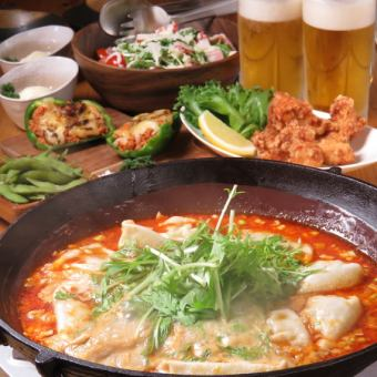 All 9 items ★ I'm feeling good! Dumplings & noodles & rice cook ★ 3000 yen course «+ 1500 yen with 2h drink all you can do» ♪ »