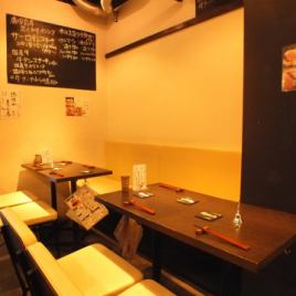 We prepare partitions for each table seat! Recommended for the girls' party and birthday party ☆