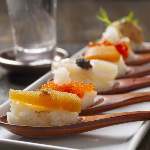 OneSpoon 魚卵6種盛り合わせ
