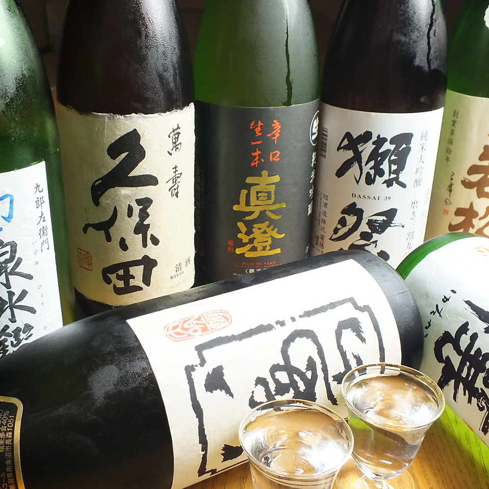 Shochu · Japanese sake at all times 50 kinds or more
