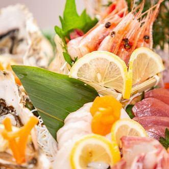 鮮魚刺身盛り合せ