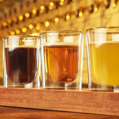 道内随一の33種の生ビール