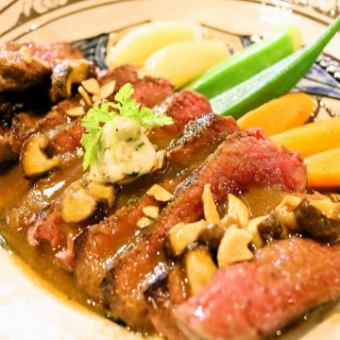 Miyako cattle steak
