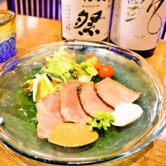 Miyako牛的烤牛肉