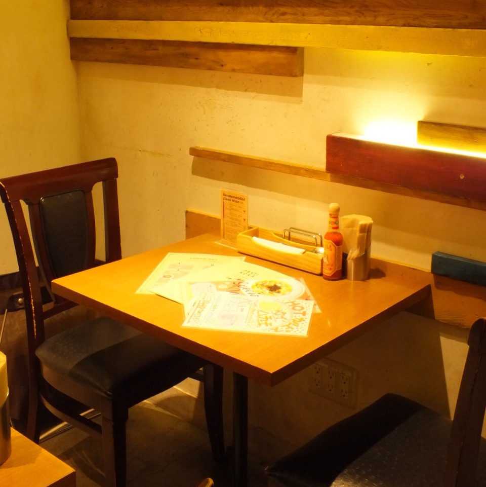 1 to 2 people.Dinner with couples, couples, friends ♪ We will prepare seats according to the number of people!