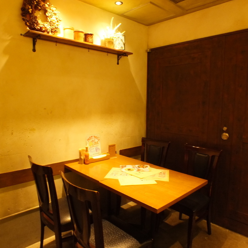For 2-4 people.We will prepare seats according to the number of people ♪ for girls' organizations and group meals!