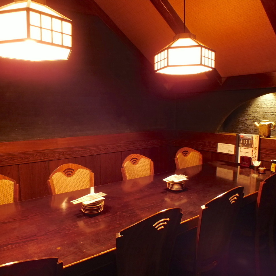 It is perfect for moving freely and deepening exchanges.Come to use for medium size.We will produce a Japanese space and delicious Japanese cuisine with a delightful seating.